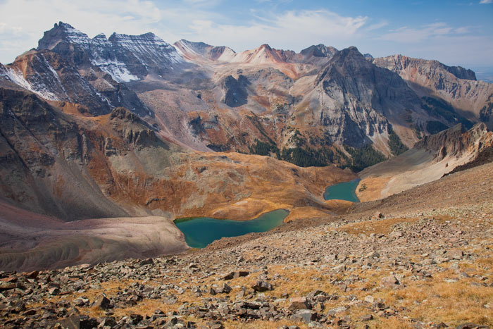 Mount Sneffels Wilderness, Grand Mesa - Uncompahgre - Gunnison National Forest, CO, USA